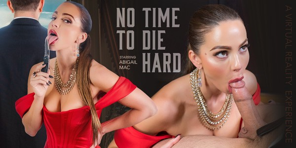 No Time to Die Hard starring abigail mac