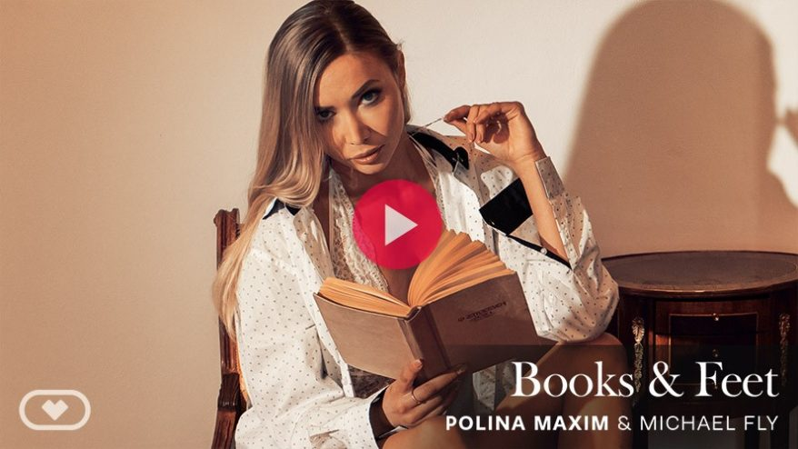 Polina Maxim foot fetish vr porn